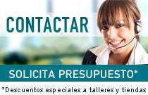 Contactar - Solicita presupuesto