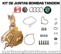 Kit de juntas Bombas Tandem VW