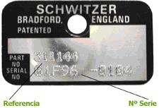 Placa Identificativa SCHWITZER