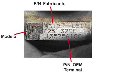 Placa Identificativa IHI