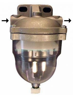 TYB227793 Prefiltro decantador Ø 14X1,5 Con entrada izquierda