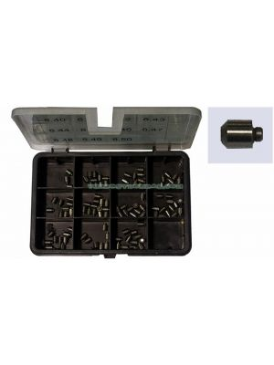 TYB228092 Kit Pins Cilindrico Fase 2 Espessor 8,40 -> 8,70 mm Incremento 0,01 mm Tot 310 Pz