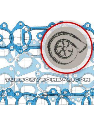 TYB228257 Kit de juntas turbo Garrett 452055-4