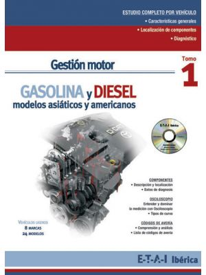 TYB228220  MANUAL GESTIÓN MOTOR ASIÁTICOS Y AMERICANOS + CD ROM de esquemas eléctricos