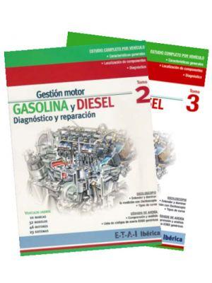 TYB228219  MANUAL GESTIÓN MOTOR GASOLINA Y DIESEL - MODELOS EUROPEOS (PACK DE TOMOS 2+3)