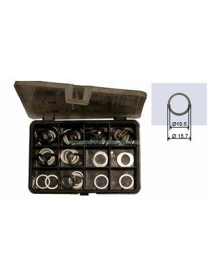 TYB228093 Kit Espesor Inyector 1,20 -> 1,30 Mm Incremento 0,01 mm Tot 110 Pz