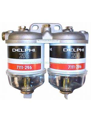 TYB228133 Tapa de Filtro Completa Doble Con Filtro y decantador CAV 7176/096 Ø 1/2X20 Unf