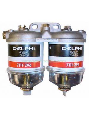TYB228135 Tapa de Filtro Completa Doble Con Filtro Y decantador CAV 7176/096 Ø 14X1,5