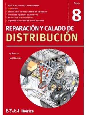 TYB228207  MANUAL REPARACIÓN Y CALADO DE DISTRIBUCIÓN TOMO 8