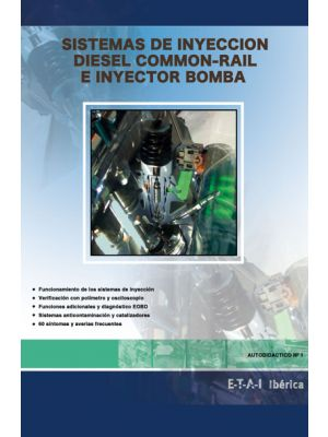 TYB228226  MANUAL SISTEMAS DE INYECCION DIESEL COMMON RAIL E INYECTOR BOMBA
